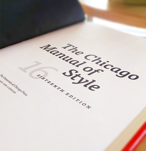Chicago Manual of Style coverpage
